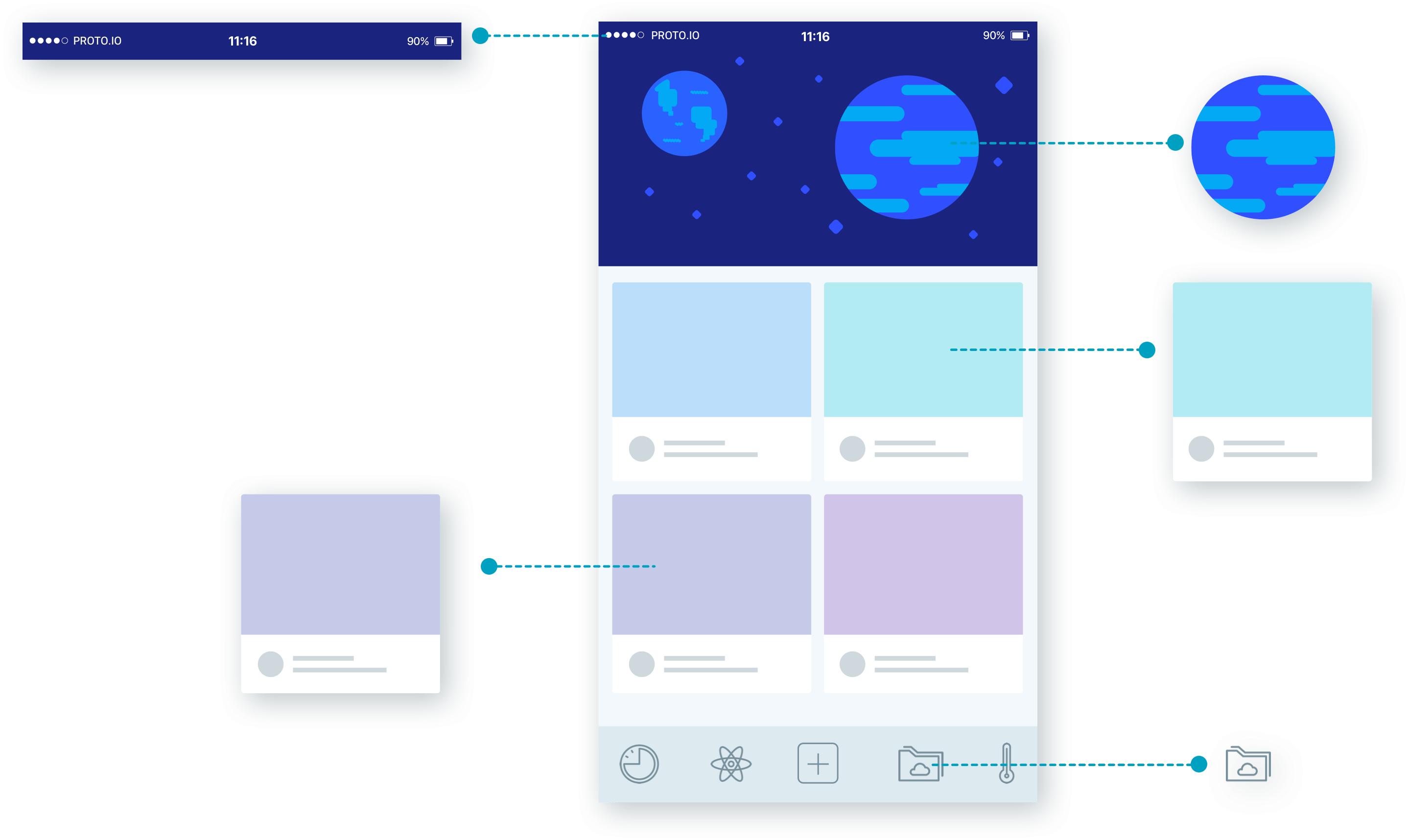Exporting UI assets from Proto.io.