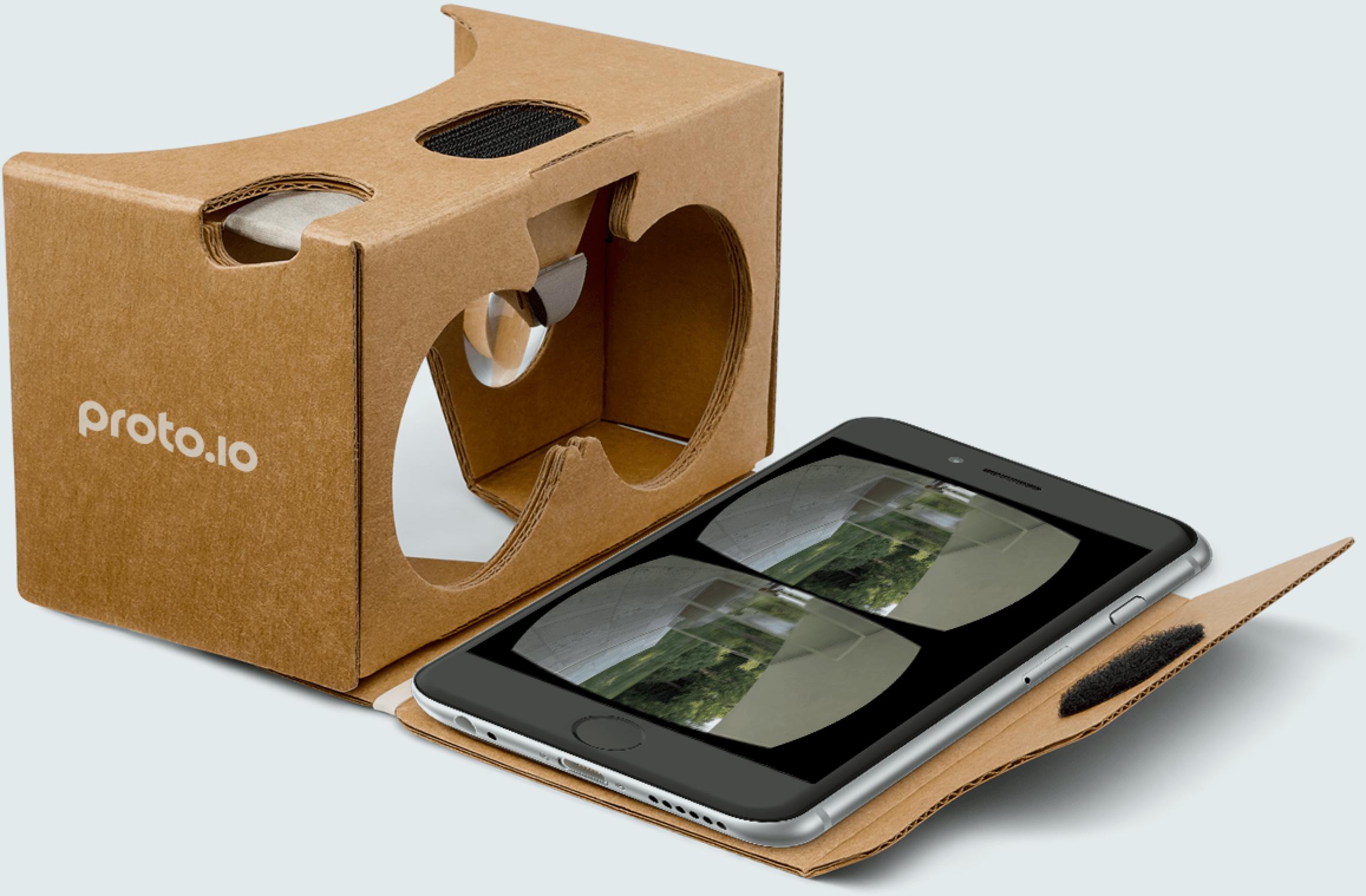 Prototype VR experiences with Proto.io